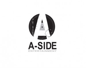 a side entertainment branding and logo design by ocreations in pittsburgh