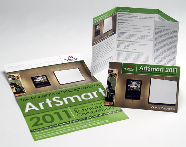 art institute of pittsburgh brochure design
