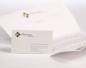 crossroads lawfirm prints publications and print design by ocreations in pittsburgh