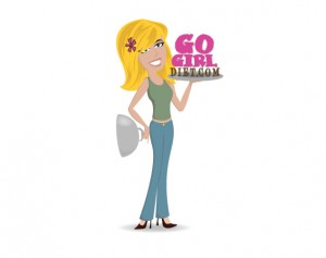 go girl diet branding and logo design by ocreations in pittsburgh