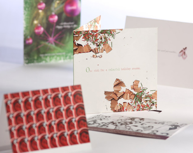 holiday season card publications and print design by ocreations in pittsburgh