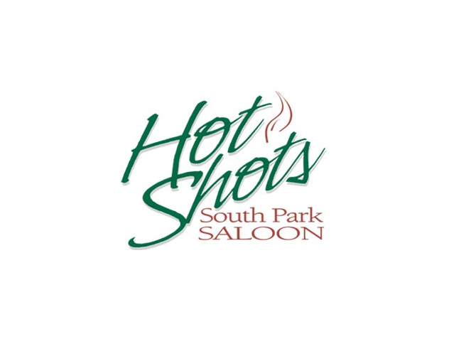hot shots south park saloon branding and logo design by ocreations in pittsburgh