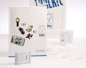 i am linc thinc linc promotional print package design by ocreations in pittsburgh