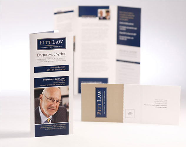pitt law brochure publications and print design by ocreations in pittsburgh