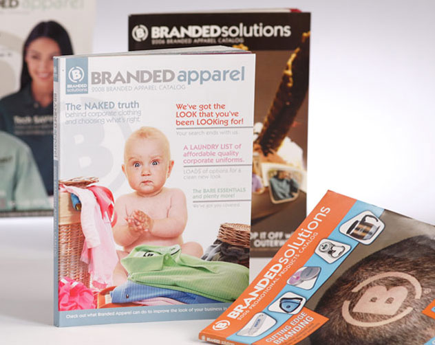 branded solutions apparel catalog publications and print design by ocreations in pittsburgh