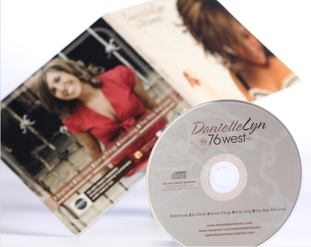 pittsburgh danielle lyn cd package design by ocreations in pittsburgh