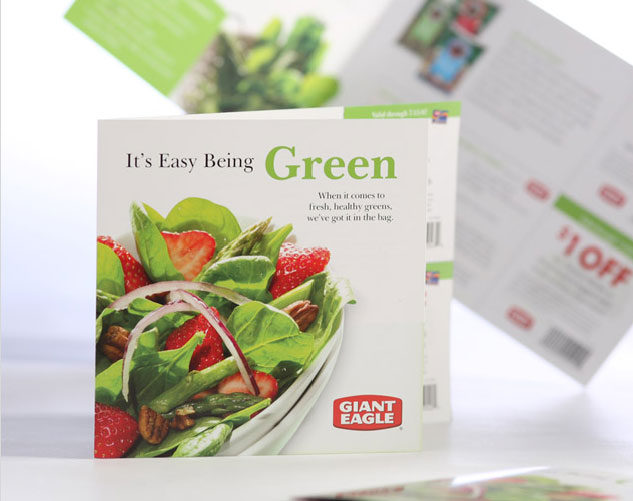 giant eagle green brochure publications and print design by ocreations in pittsburgh