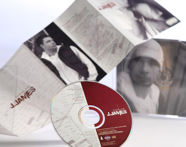 pittsburghs own j james cd package design by ocreations in pittsburgh