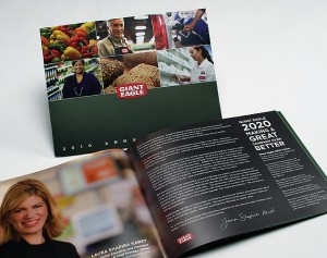 giant eagle annual report design