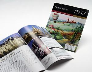 perillo tours publication design