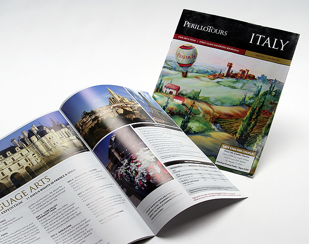 perillo tours publication design