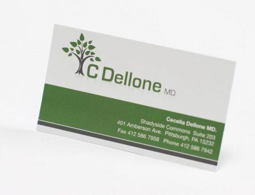 C Dellone Business Card