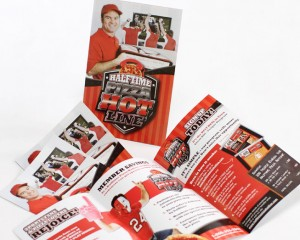 half time pizza branding package by ocreations in pittsburgh