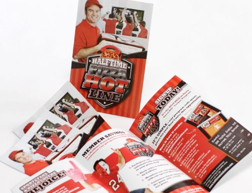 Half Time Pizza Branding Package