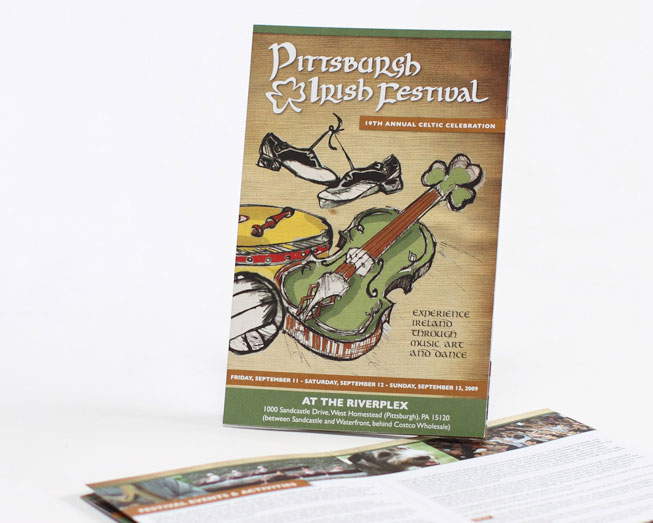 irishfest promotional mailer by ocreations in pittsburgh