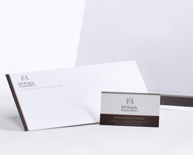 mckay business card and letterhead package by ocreations in pittsburgh