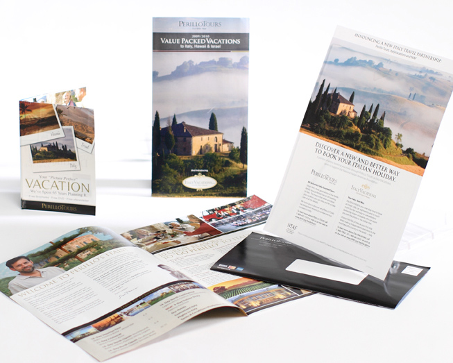 perillo tours promotional mailer travel package by ocreations in pittsburgh