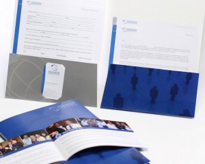 premier business package print design by ocreations in pittsburgh