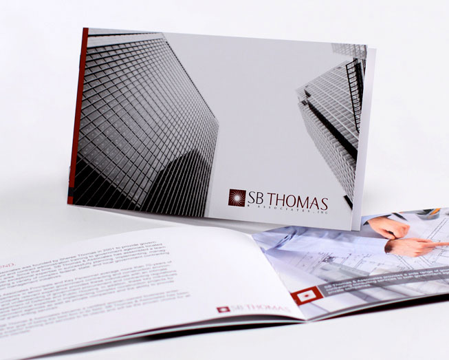 sbthomas brochure by ocreations in pittsburgh