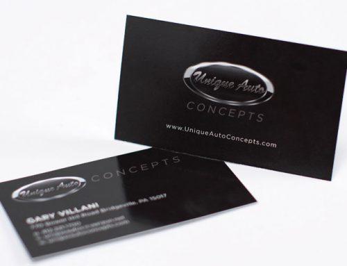 Unique Auto Business Card