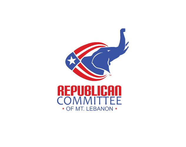republican committe of mt lebanon branding and logo design by ocreations in pittsburgh