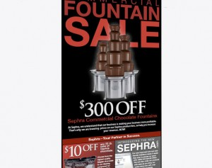 sephra commercial chocolate fountains web design and web mail by ocreations in pittsburgh