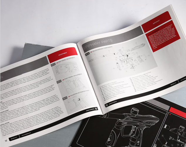 smartparts assembly manual publications and print design by ocreations in pittsburgh
