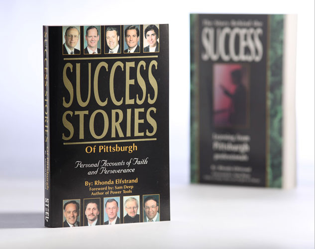 success stories of pittsburgh book cover publications and print design by ocreations in pittsburgh