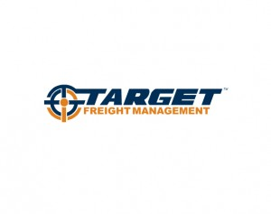 target freight management branding and logo design by ocreations in pittsburgh