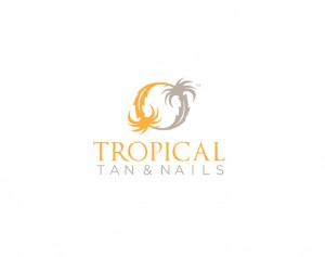 tropical tan and nails branding and logo design by ocreations in pittsburgh
