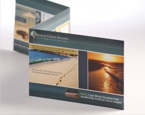 universal global resorts brochure publications and print design by ocreations in pittsburgh