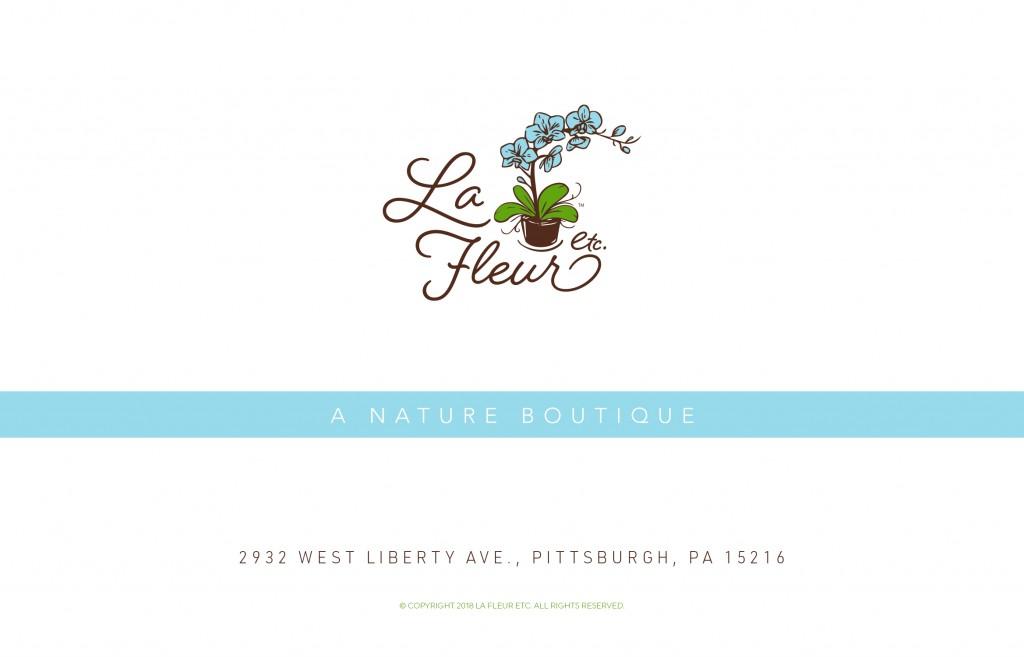 La Fleur Etc. Landing Page