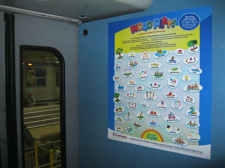 Fred Rogers Company Word Play Subway Signage Ocreations A Pittsburgh Design Firm