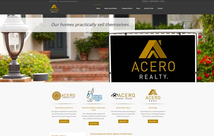 pittsburgh-web-design-acero-realty