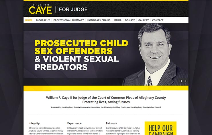 pittsburgh-web-design-caye-for-judge-campaign