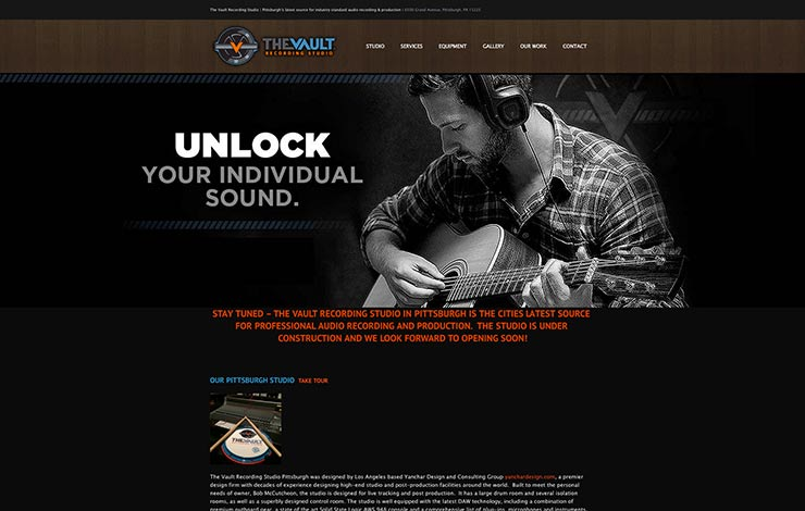 pittsburgh-web-design-the-vault-recording