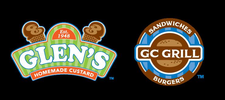 pittsburgh-logo-design-glens-custard-gc-grill