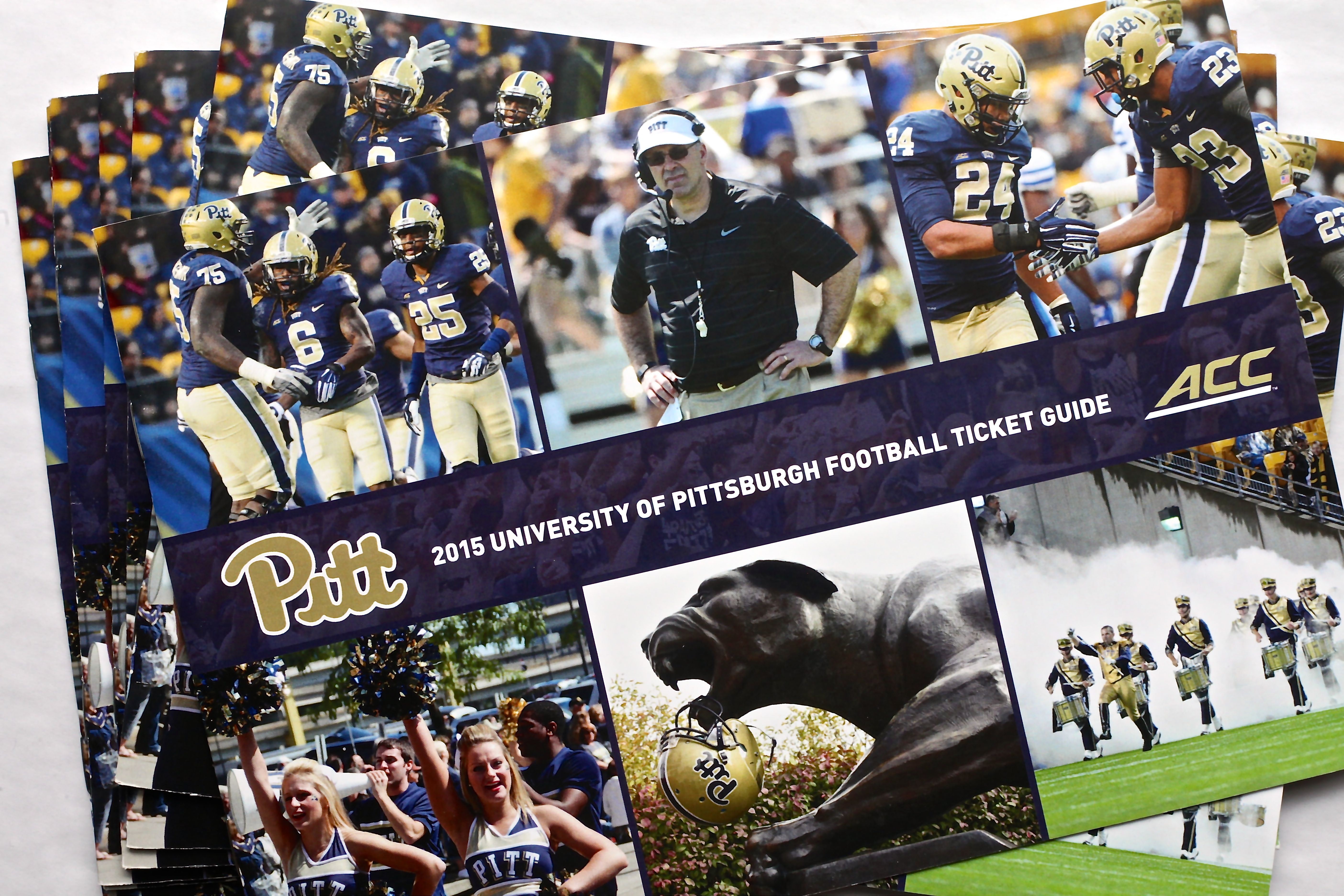 publication-design-pitt-football-ticket-guide-cover