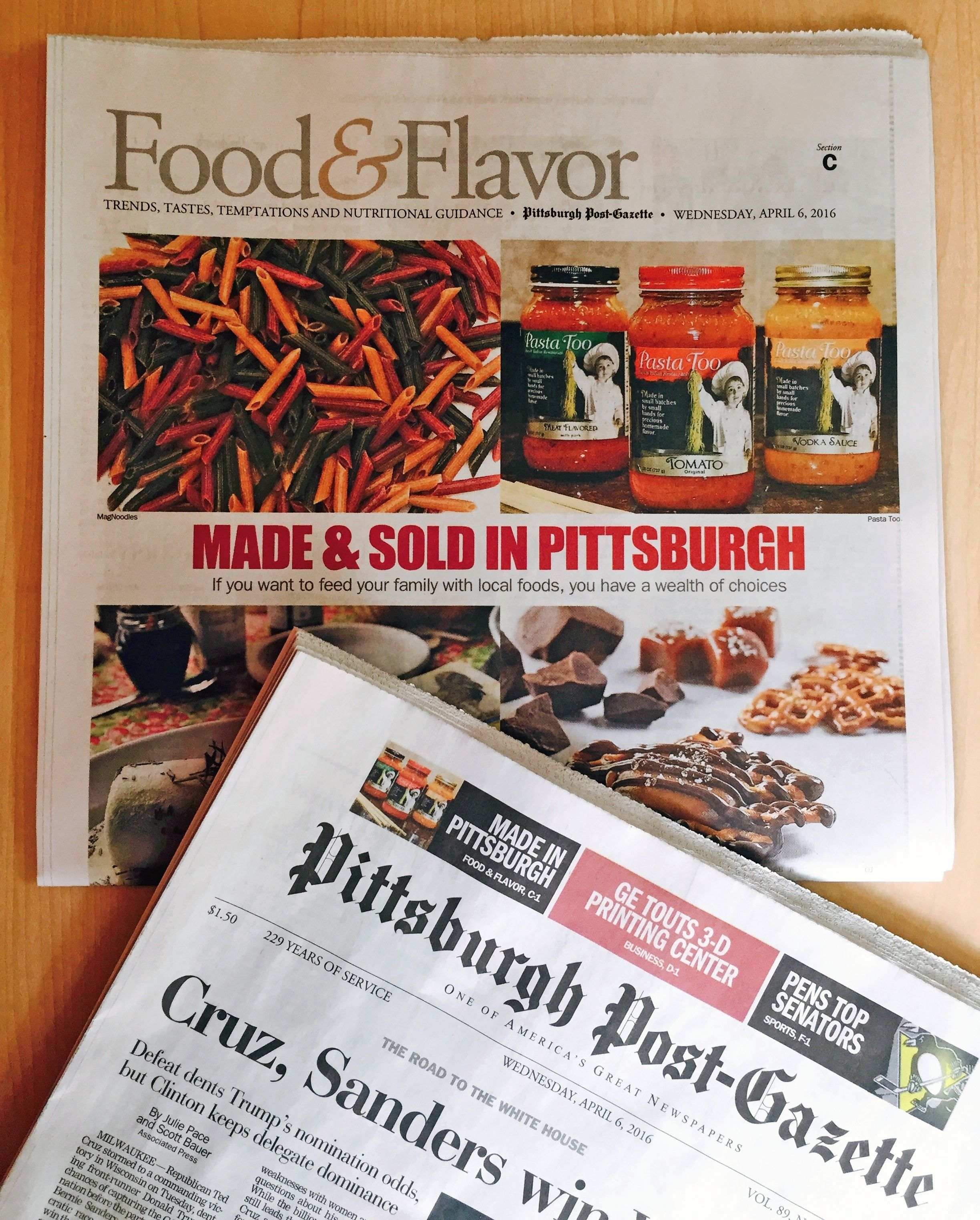 ocreations-news-coverage-Post-Gazette-Pasta-Too