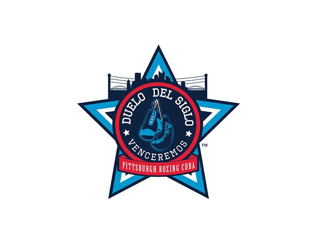 Pittsburgh branding logos Duelo del Siglo-boxing Cuba