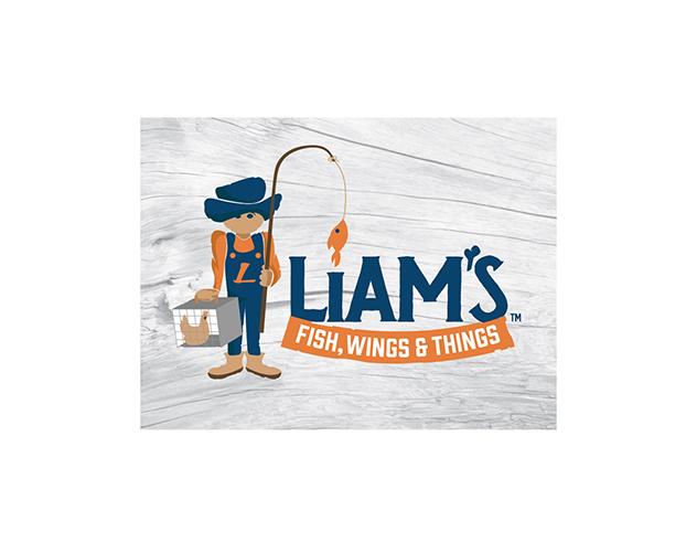 Pittsburgh branding logos Liam's Fish Market