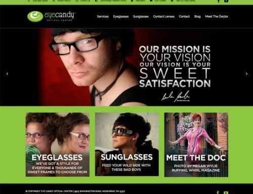 eyecandy Optical Website