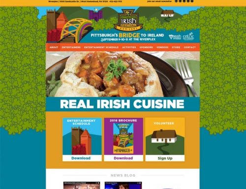 Pittsburgh Irish Festival Website
