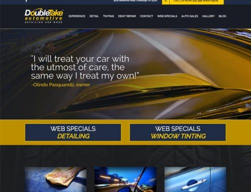 DoubleTake Auto Website