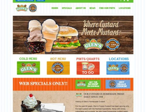 Glen's Custard Website
