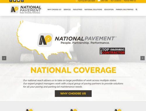 National Pavement Website