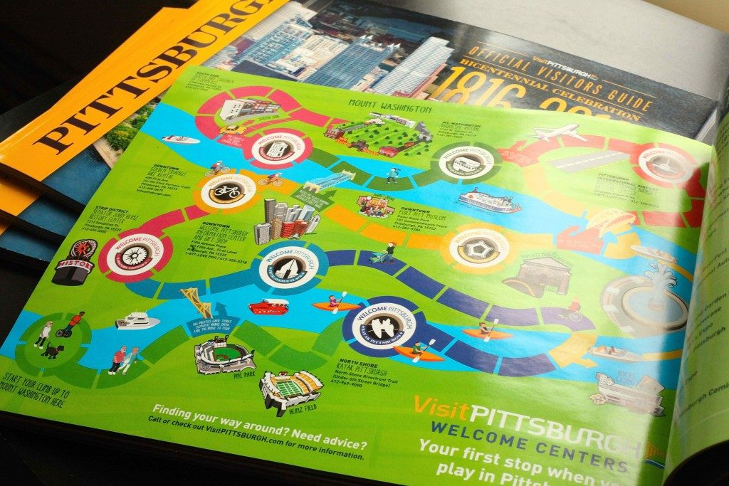 pittsburgh-publication-design-visit-pittsburgh-2016-gameboard-map