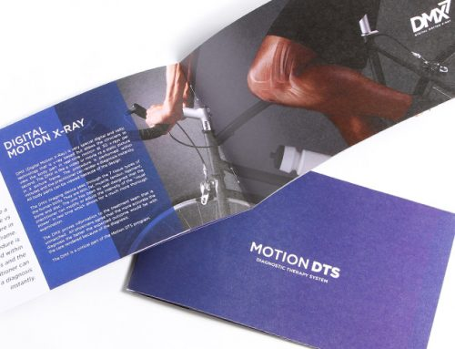 Print Design DMX Brochure Motion DTS