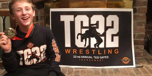 OCREATIONS DONATES DESIGN TO TED GATES 22ND ANNUAL WRESTLING TOURNAMENT