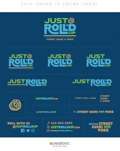 Just Roll'd Up Brand Style Guide Sheet - page 3